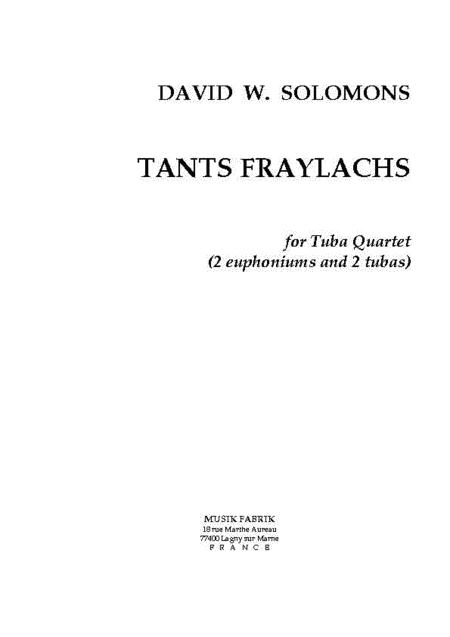 Tants Fraylachs (Style Klezmer)