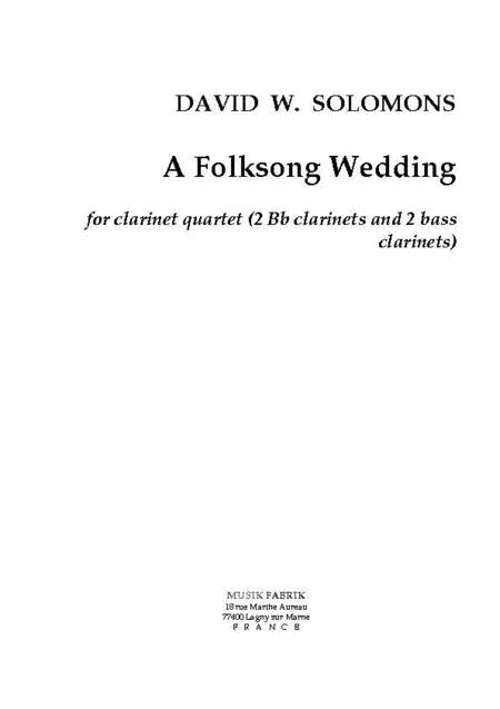 A Folksong Wedding