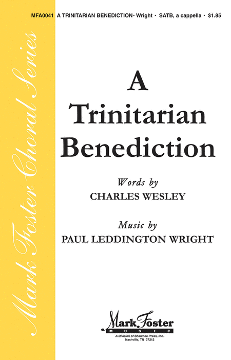 A Trinitarian Benediction