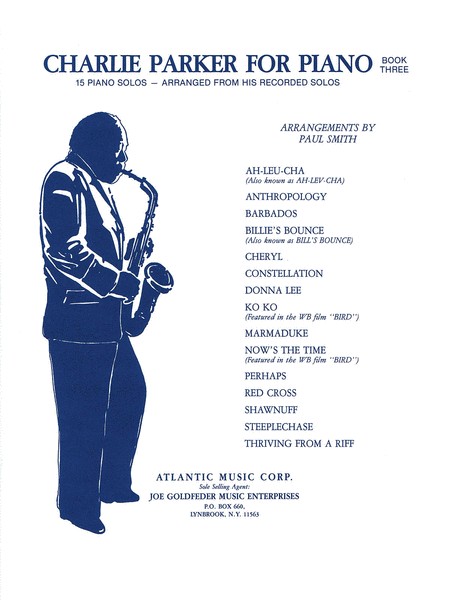 Charlie Parker for Piano - Book 3