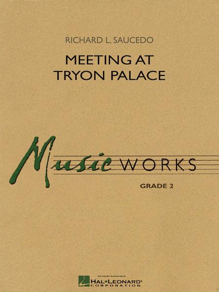 Meeting at Tryon Palace