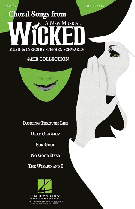 Choral Songs from Wicked - ShowTrax CD