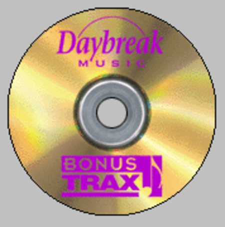 Brookfield Press/Daybreak Music BonusTrax CD - Vol. 8, No. 1