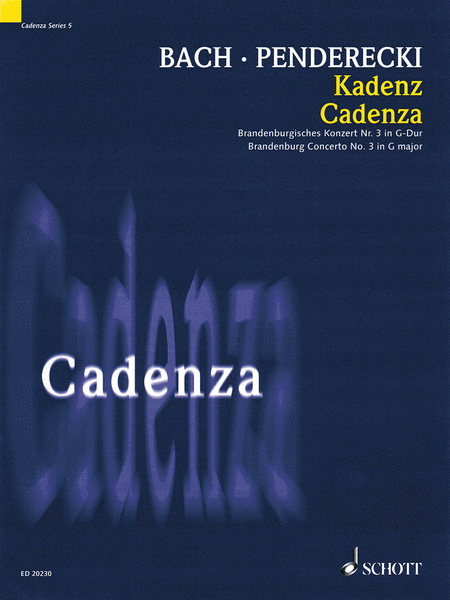 Cadenza - Brandenburg Concerto No. 3 in G Major