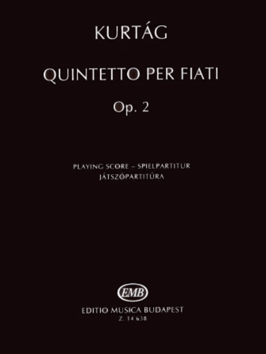 Quintetto per Fiati, Op. 2
