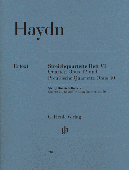String Quartets, Vol. VI, Op.42 and Op.50 (Prussian Quartets)