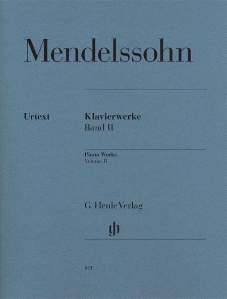 Piano Works, Volume II