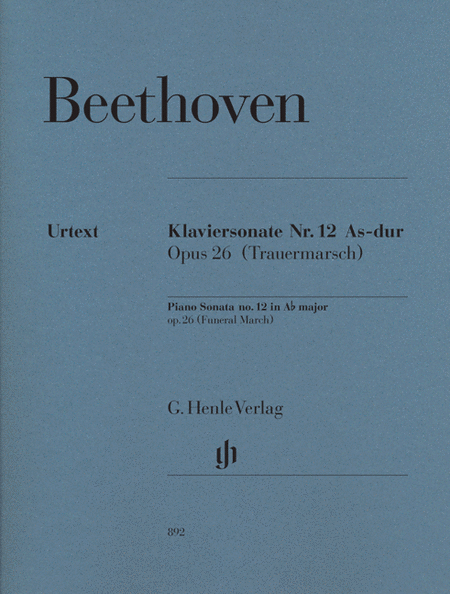 Piano Sonata No. 12 in A-flat Major, Op. 26 (Funeral March)
