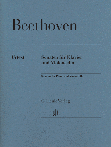 Beethoven: Sonatas For Piano And Violoncello, Revised Edition