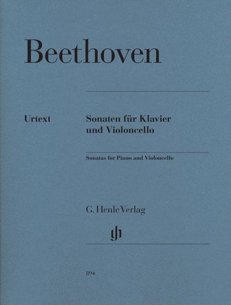 Beethoven: Sonatas For Piano And Violoncello, Revised Edition