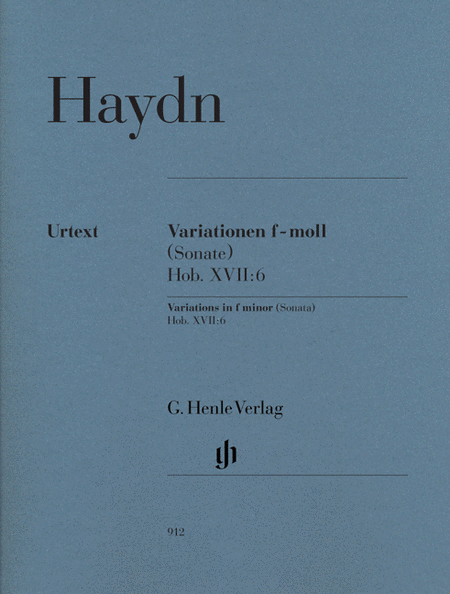 Variations in F minor (Sonata), Hob.XVII:6