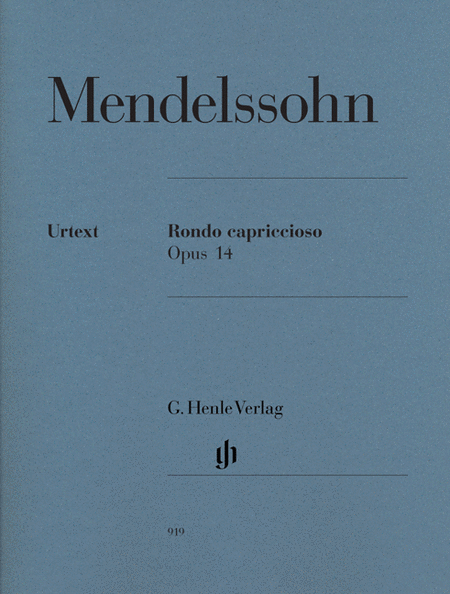 Rondo capriccioso, Op. 14 - Revised Edition