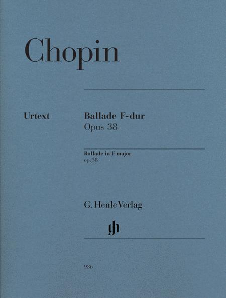 Ballade in F Major, Op. 38