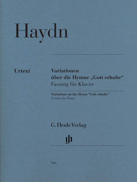 Variations on the Hymn Gott erhalte