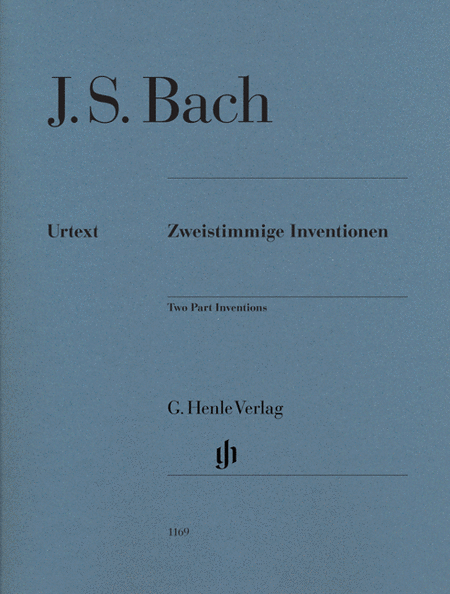 Two Part Inventions BWV 772-786