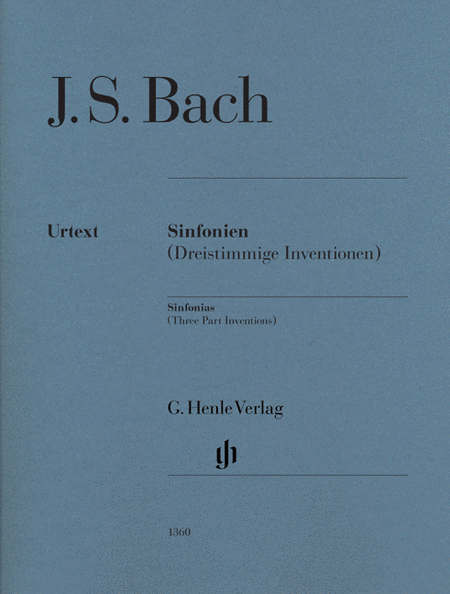 Sinfonias (Three Part Inventions) BWV 787-801