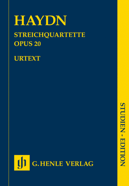 String Quartets, Vol. IV, Op. 20 (Sun Quartets)
