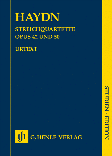 String Quartets, Vol. VI, Op. 42 and Op. 50 (Prussian Quartets)