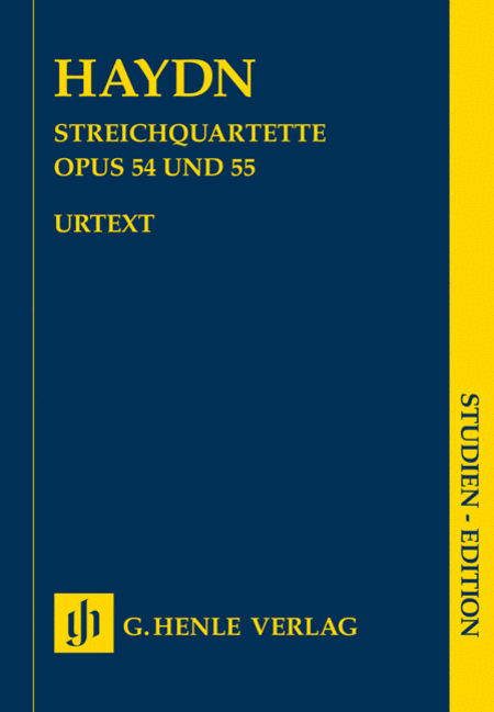 String Quartets, Vol. VII, Op. 54 and Op. 55 (Tost Quartets)