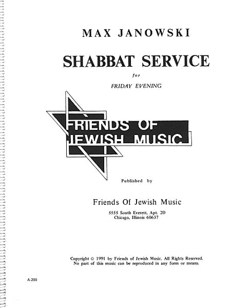 Shabbat Service For Friday Evening