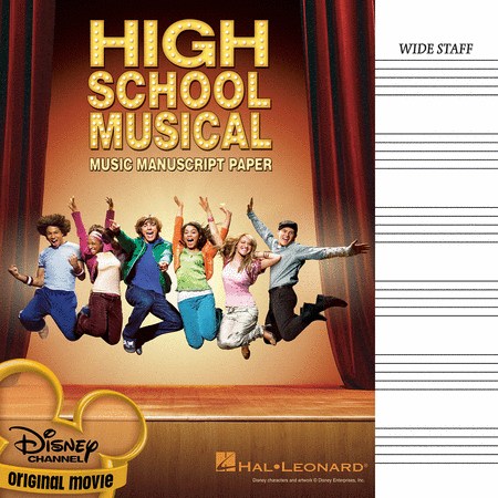 High School Musical Manuscript Paper
