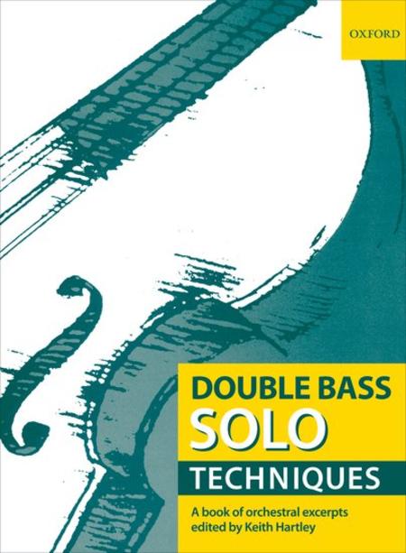 Double Bass Solo Techniques