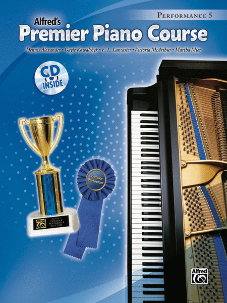 Premier Piano Course Performance, Book 5