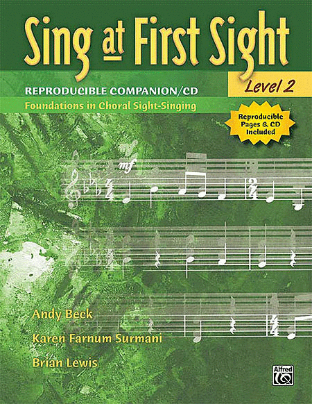 Sing at First Sight Reproducible Companion, Book 2