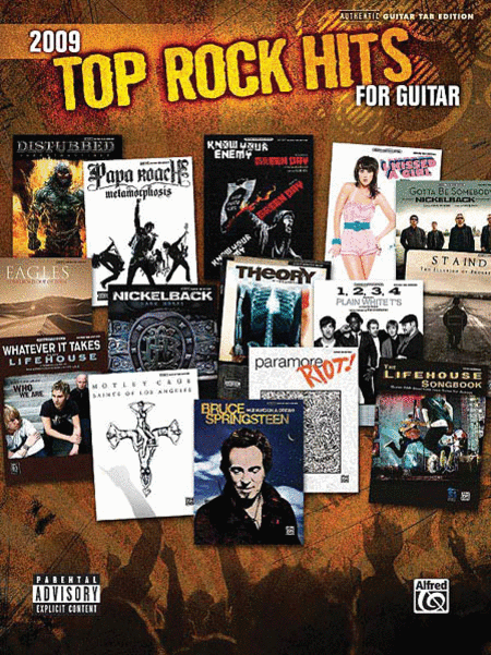 2009 Top Rock Hits for Guitar