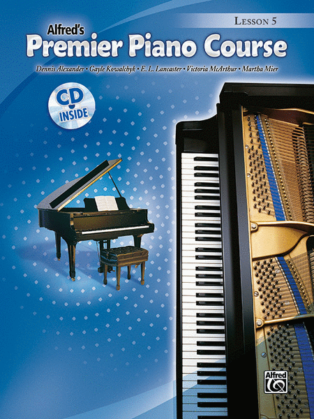 Premier Piano Course Lesson Book, Book 5