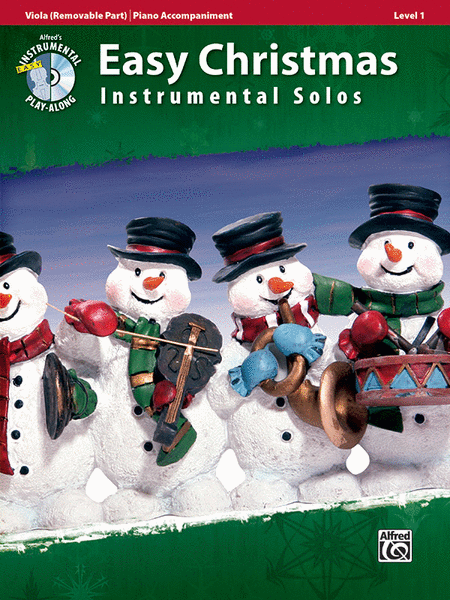 Easy Christmas Instrumental Solos for Strings, Level 1