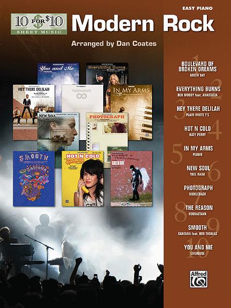 10 for 10 Sheet Music Modern Rock