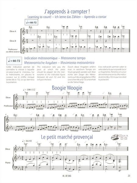 Flute Imaginative Methode Element. Vol1 /Francais/Angl./All./Esp. Avec CD
