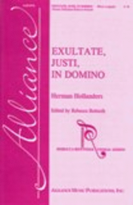 Exultate, justi, in Domino