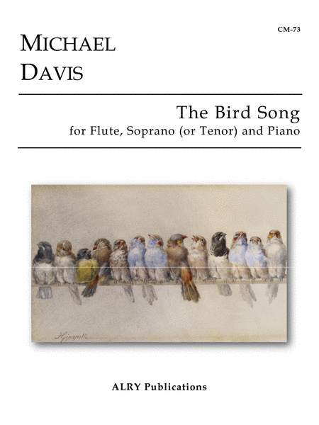 The Bird Song (Flute, Voice, Piano)