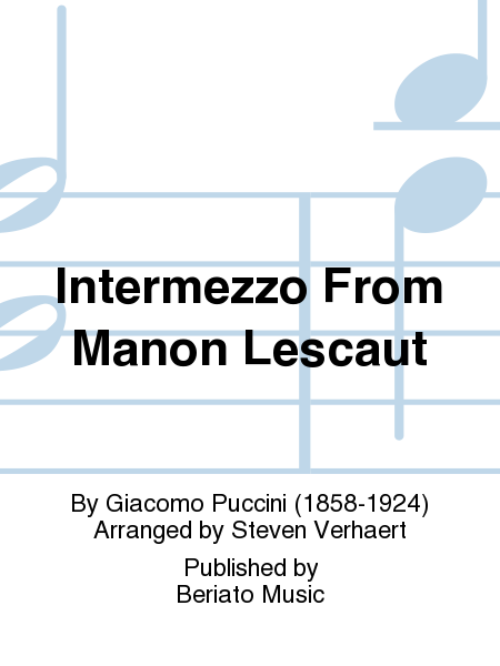 Intermezzo From Manon Lescaut
