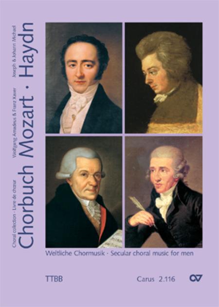 Secular choral music for man's choir (TTBB)