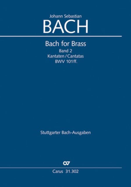 Bach for brass: Cantatas II