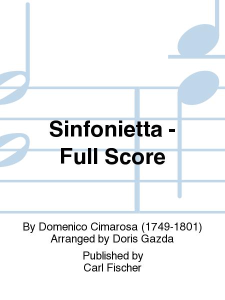 Sinfonietta - Full Score