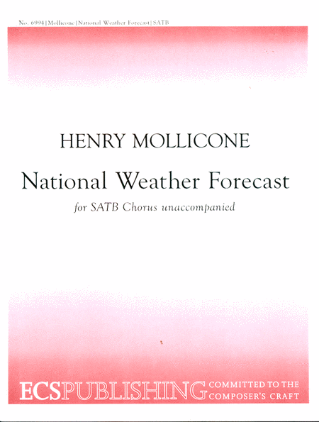 National Weather Forecast