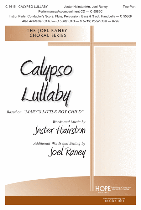 Calypso Lullaby Based on