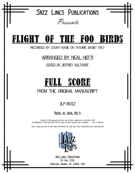 Flight Of The Foo Birds