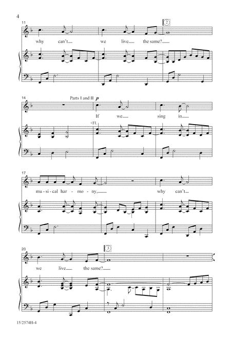 Cantamos Juntos (We Sing Together)