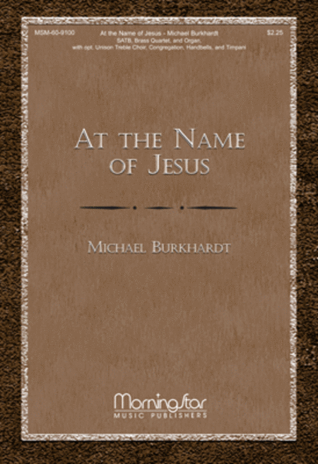 At the Name of Jesus (Choral Score)
