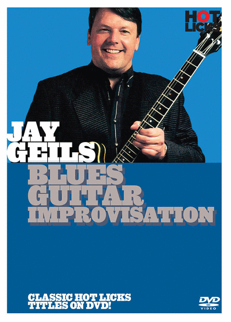 Jay Geils - Blues Guitar Improvisation