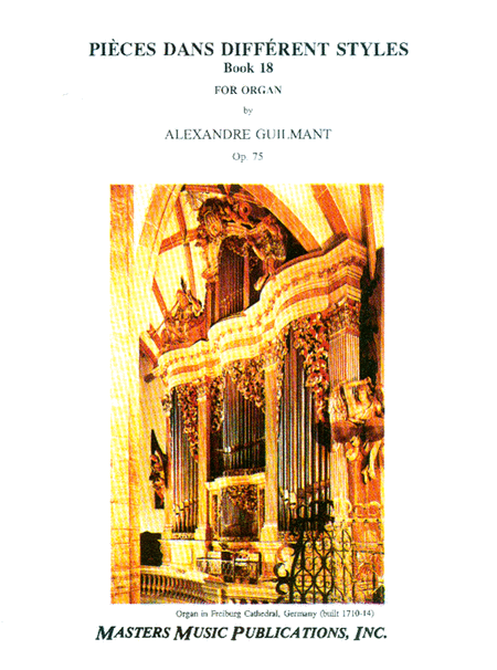 Pieces Dans Different Styles, Op. 75 - Book 18