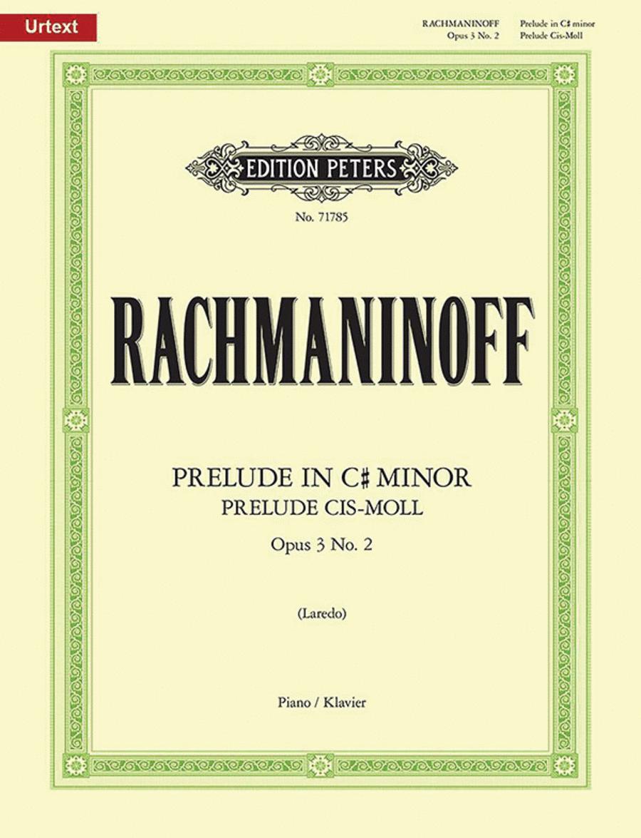 Prelude Op. 3, No. 2 in c# minor