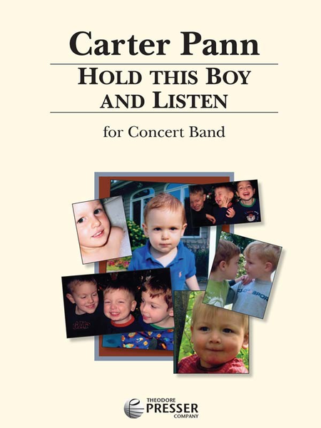 Hold This Boy and Listen - Score