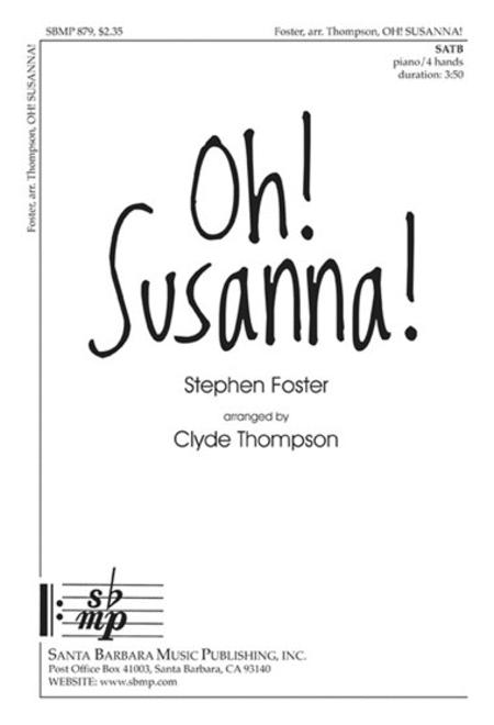 Oh! Susanna!