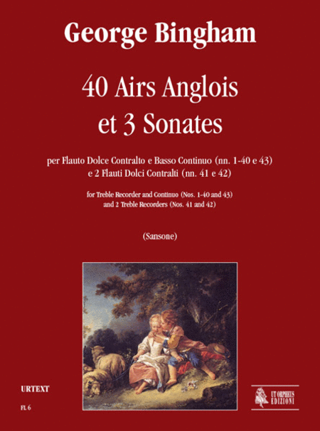 40 Airs Anglois et 3 Sonates
